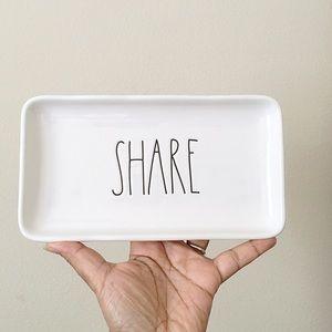 Rae Dunn Share Serving Platter